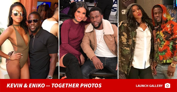 Kevin And Eniko Hart -- Together Photos