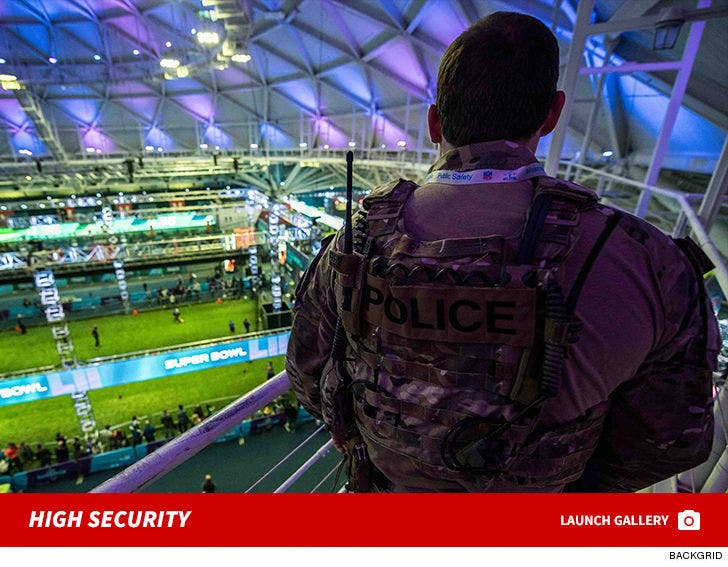 Minneapolis City Under High Security Ahead of Super Bowl LII