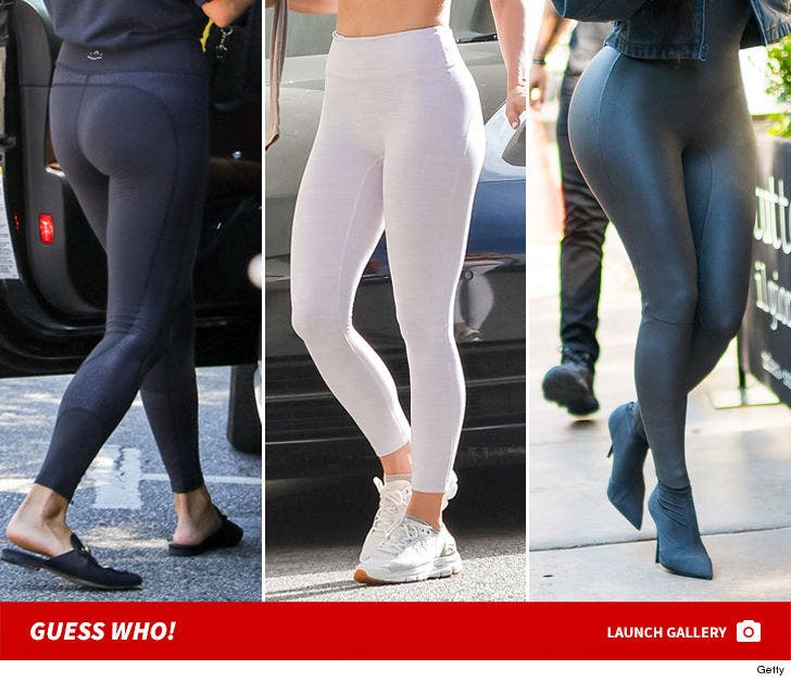Ladies In Leggings -- Guess Who!