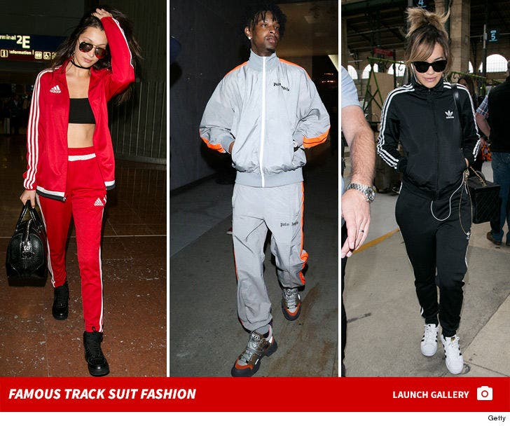Famous Track Suit Fashion