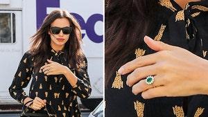 Irina Shayk Flaunting an Engagement-ish Ring (PHOTO)
