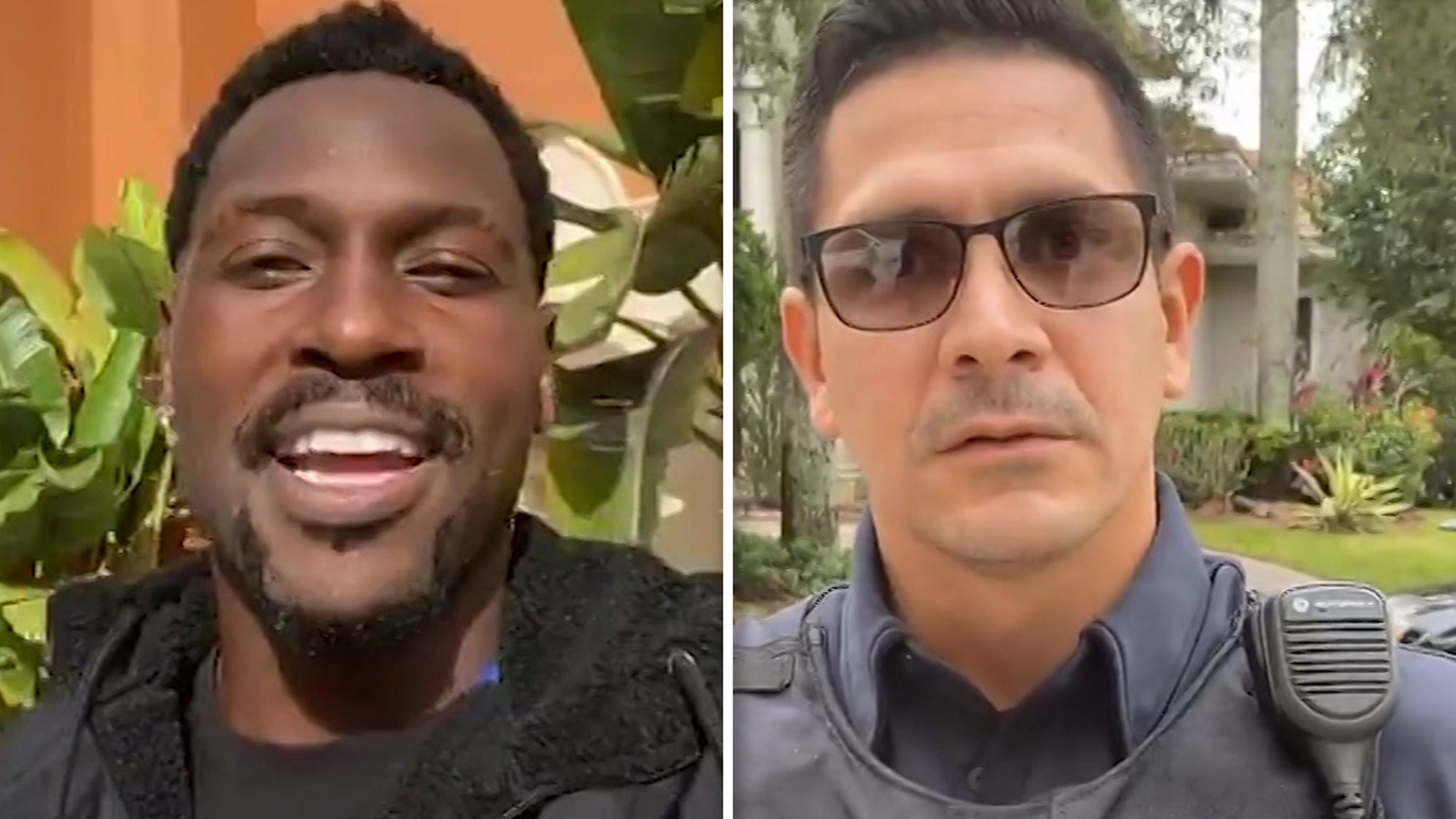 Antonio Brown Ripped By Cops, Donation Returned, You're a Terrible Role Model