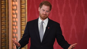 Prince Harry Surfaces for Rugby Action at Buckingham Palace