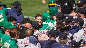Astros Coach Alex Cintron Suspended 20 Games After Bench-Clearing Brawl