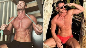 Luke Evans' Shirtless Shots