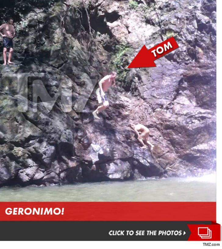 Tom Brady Throws Himself Off a Cliff