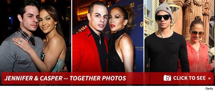 Jennifer Lopez and Casper Smart -- Before the Split