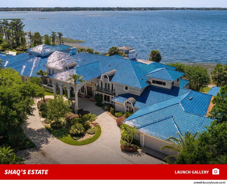 Shaquille O'Neal's Massive Florida Home