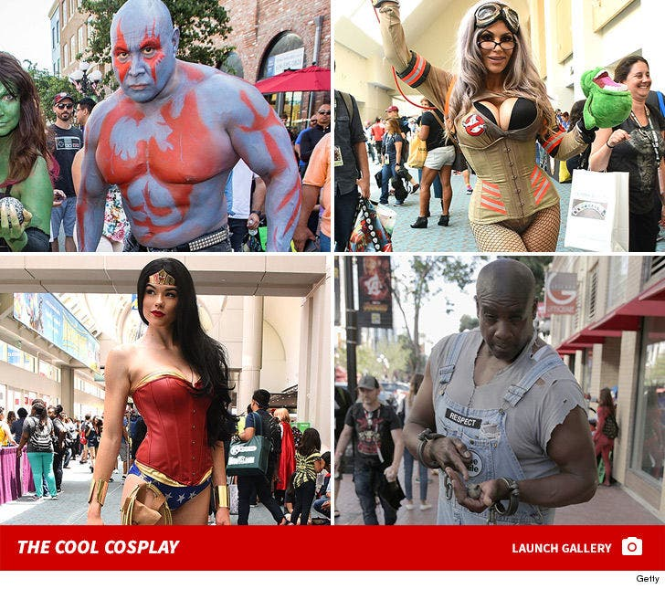 The Best Cosplay From Comic-Con 2018