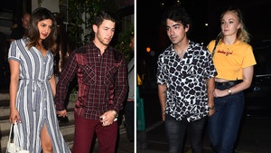 Nick and Joe Jonas Double Date with Older Bro Kevin as Fifth Wheel