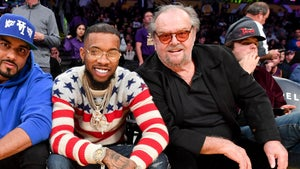 Jack Nicholson Bros Out With Tory Lanez at Lakers Game