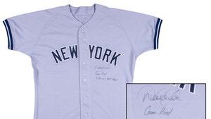 Derek Jeter's NY Yankees Debut Jersey Sells For $369k!!!