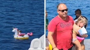 Little Girl Drifts Out to Sea in Inflatable Unicorn, Rescued by Ferry