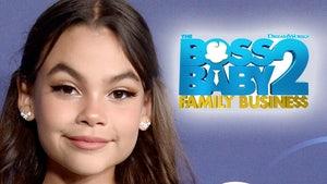 'Boss Baby 2' Star Ariana Greenblatt Made $10k Per Day For Sequel