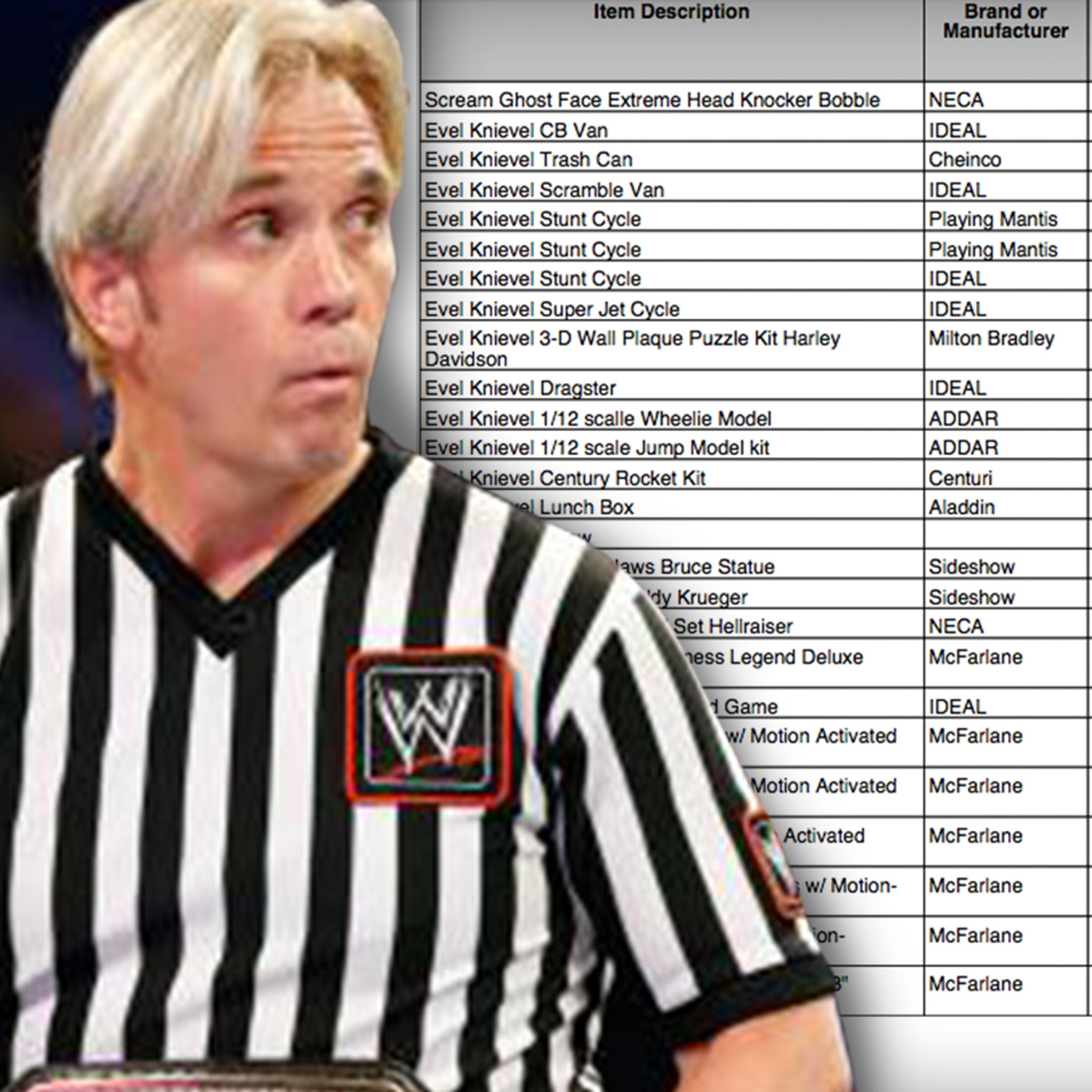 WWE Ref Charles Robinson Loses $55k of Memorabilia in Storage Unit Heist