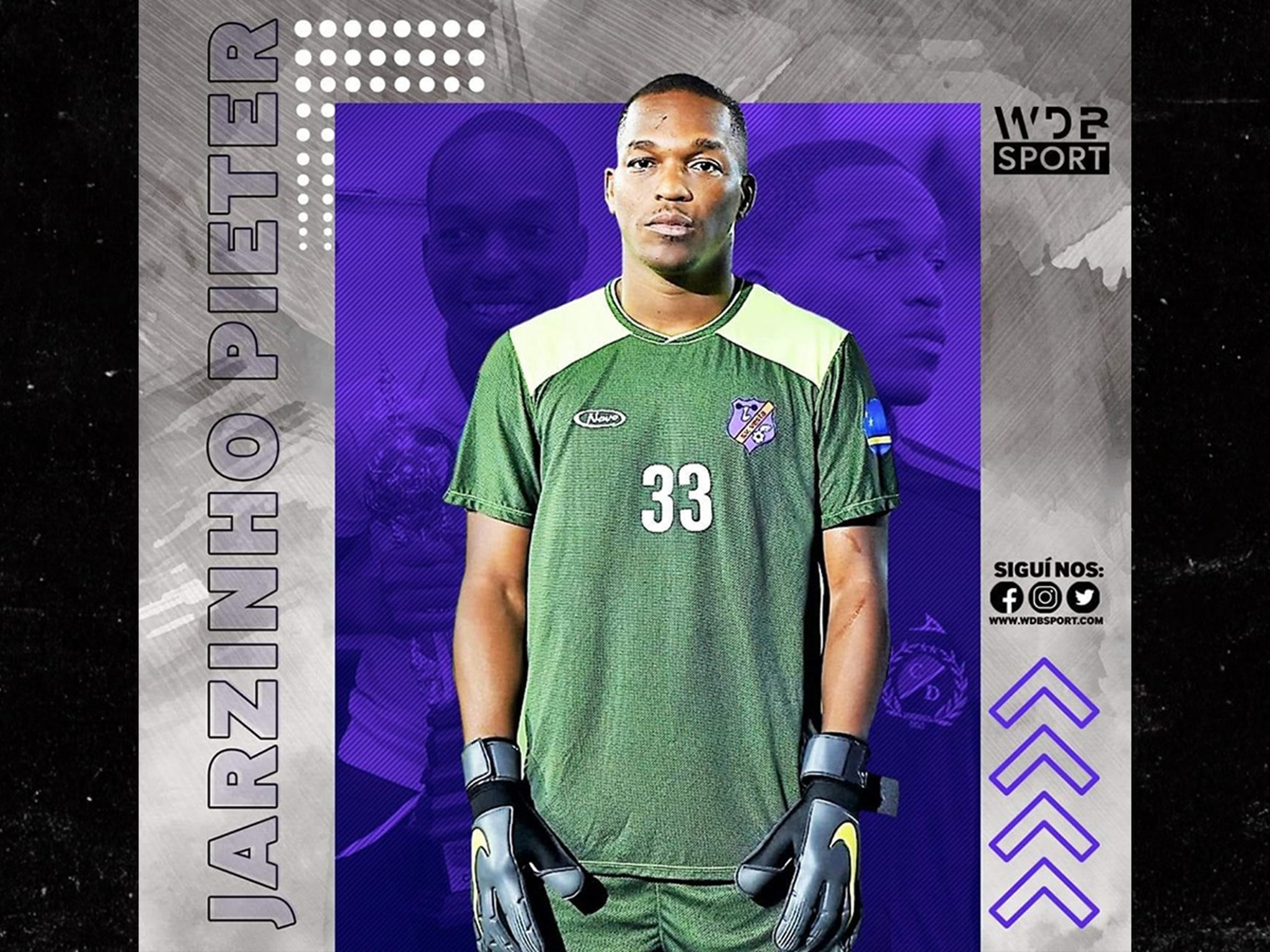 huge selection of 23389 d894e Curacao Goalkeeper Jarzinho Pieter Dead At 31, Night Before Game