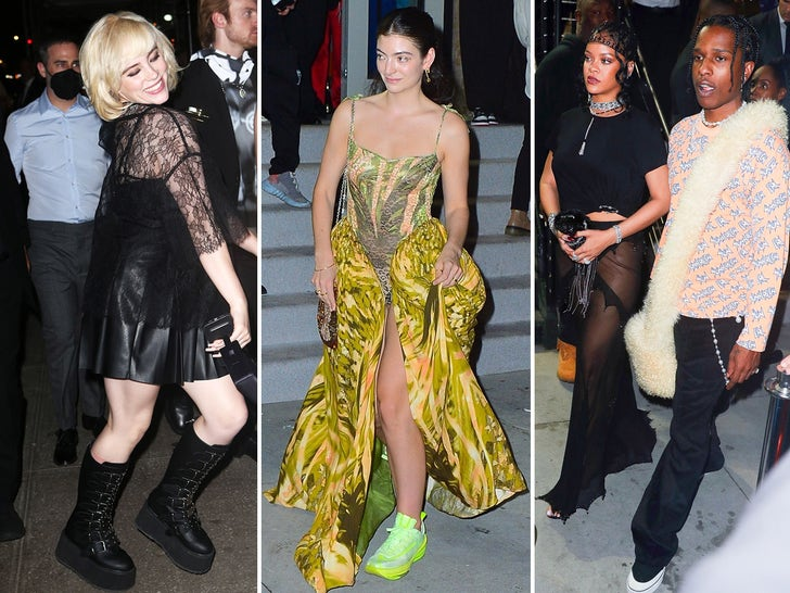 Stars at Met Gala After-Parties