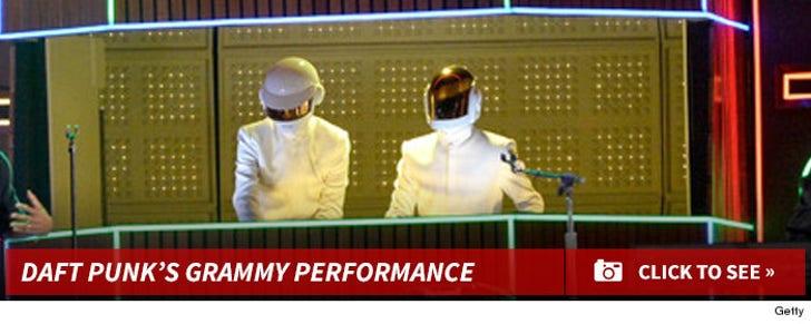 Daft Punk's Grammys Performance Pics