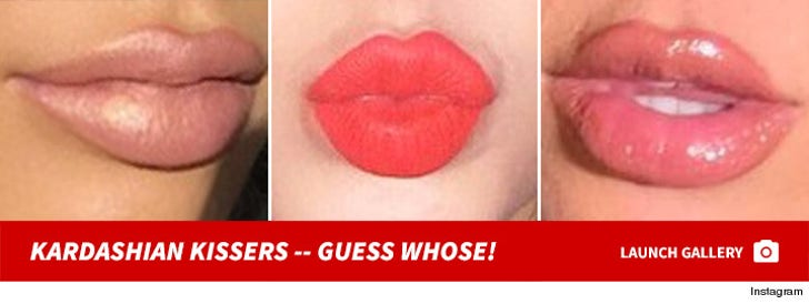 Guess The Kardashian Kisser!