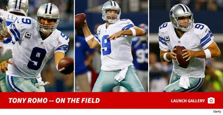 Tony Romo -- On The Field