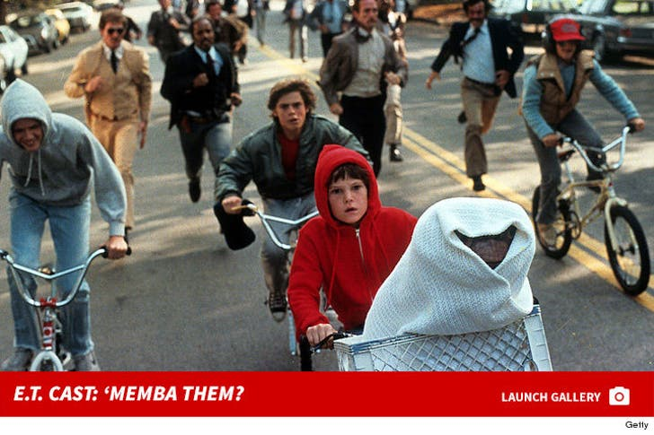 """E.T. the Extra-Terrestrial"" Cast: 'Memba Them?"