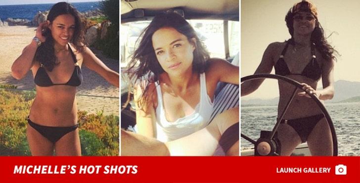 Michelle Rodriguez's Hot Shots