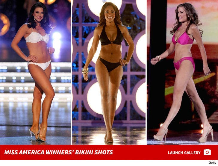 Miss America Winners' Bikini Shots -- Through The Years