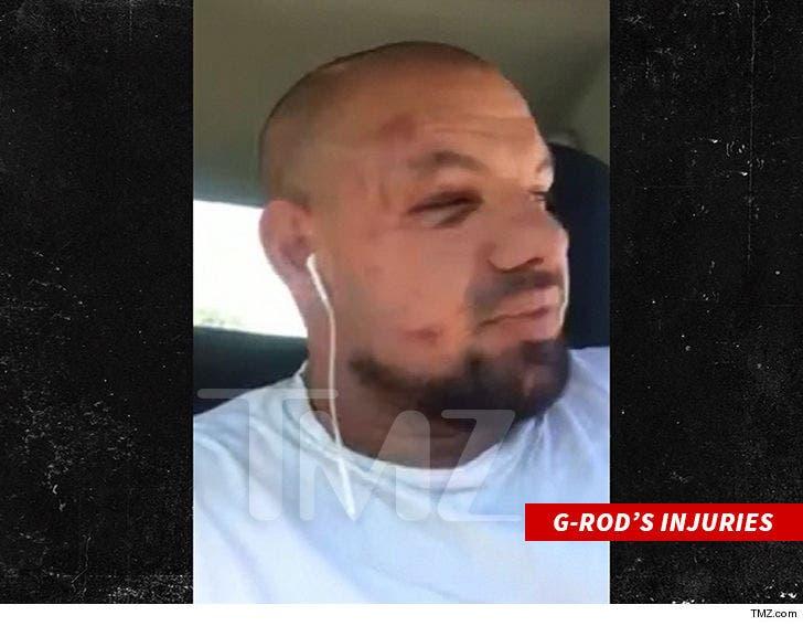 Surveillance Video Shows Brutal Fight Between Machine Gun Kelly's