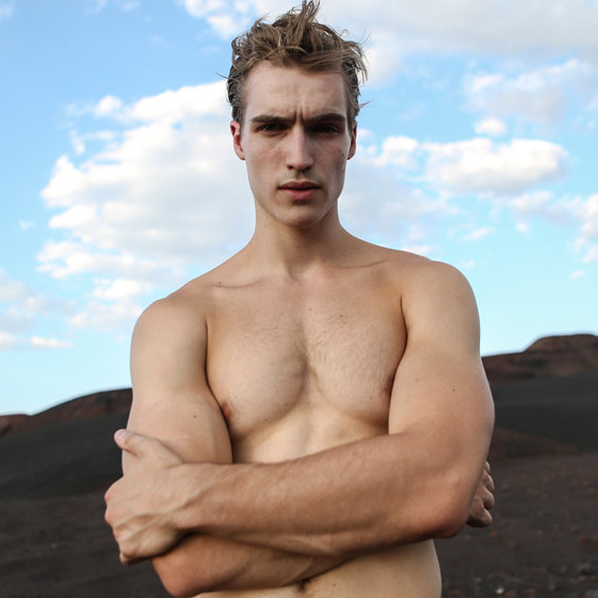 'Riverdale' Star Trevor Stines Signs Modeling Contract