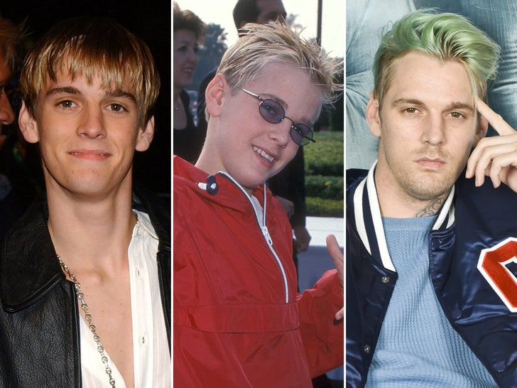 Aaron Carter -- Through The Years