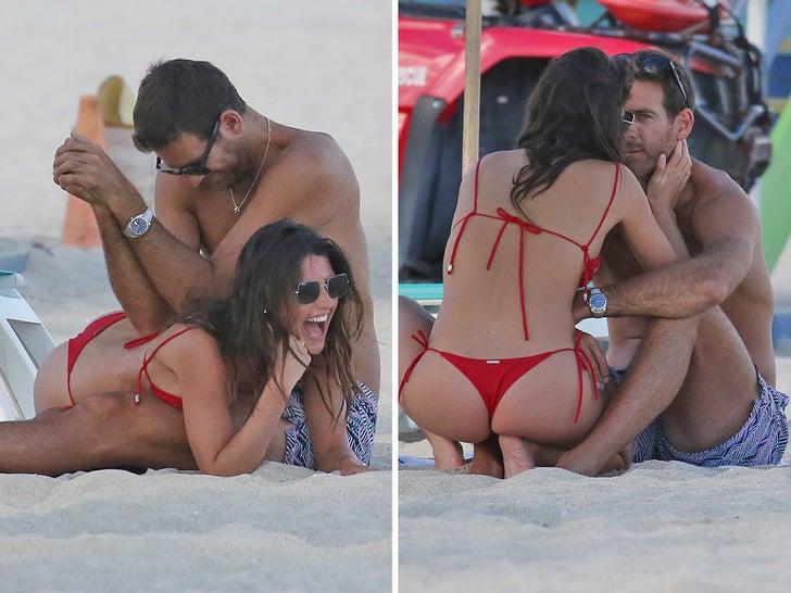 Juan Martin del Potro and Sofia Jimenez Heat Up Miami Beach