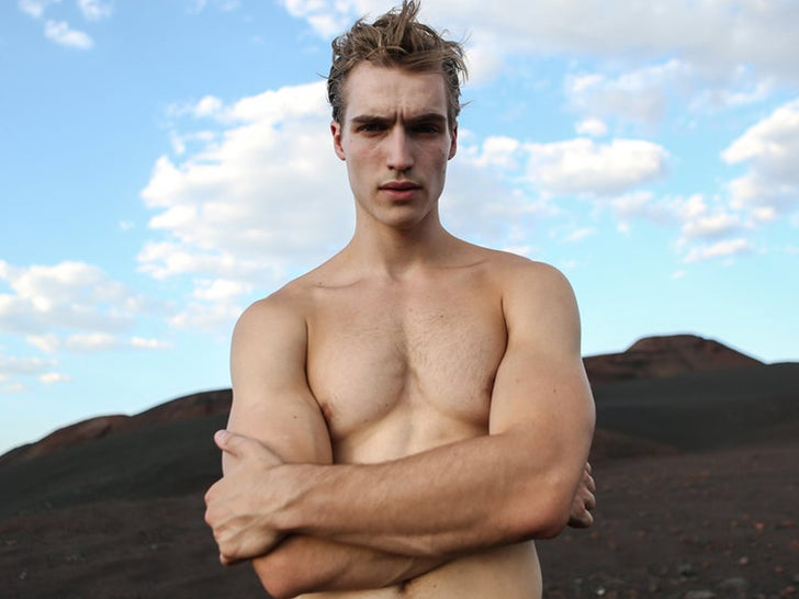 Trevor Stines Hot Model Shots