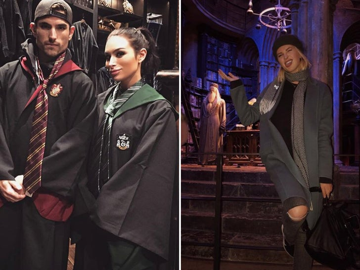 Stars At The Wizarding World of Harry Potter