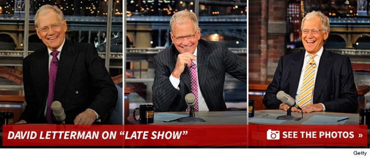 """Remembering David Letterman on """"Late Show"""""""