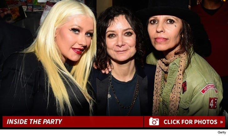 Inside Linda Perry's Party