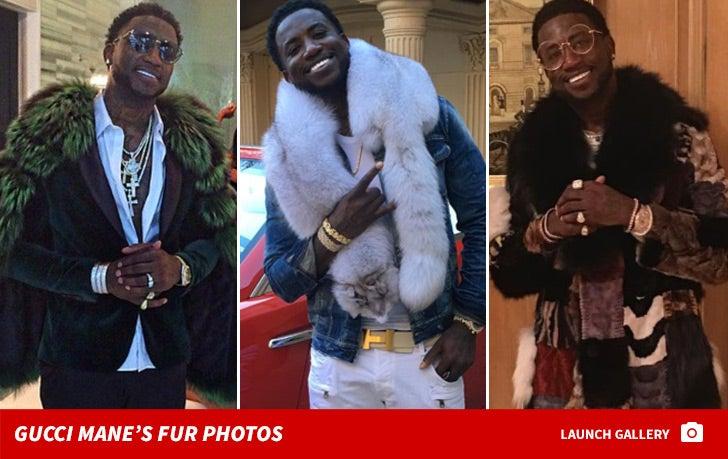 Gucci Mane Fur Photos ... Brrr!