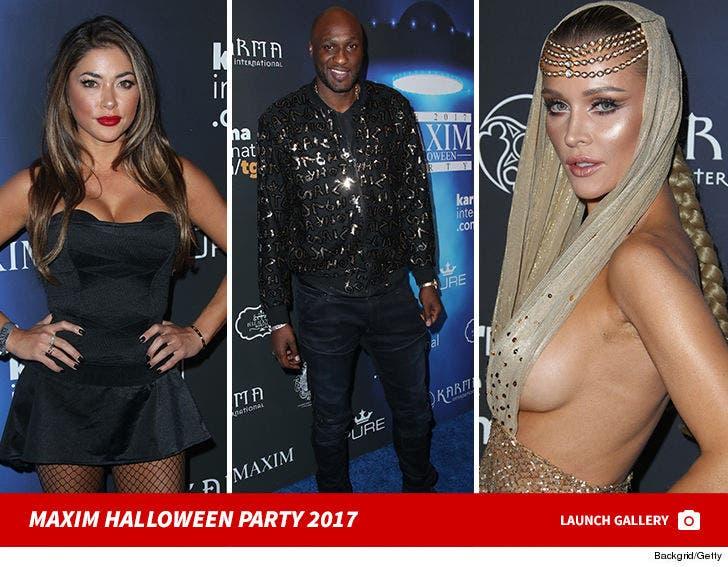 Maxim Halloween Party 2017
