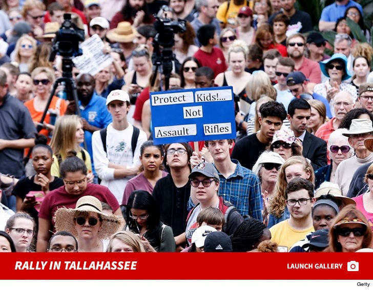 Parkland Students Protest at Florida State Capitol