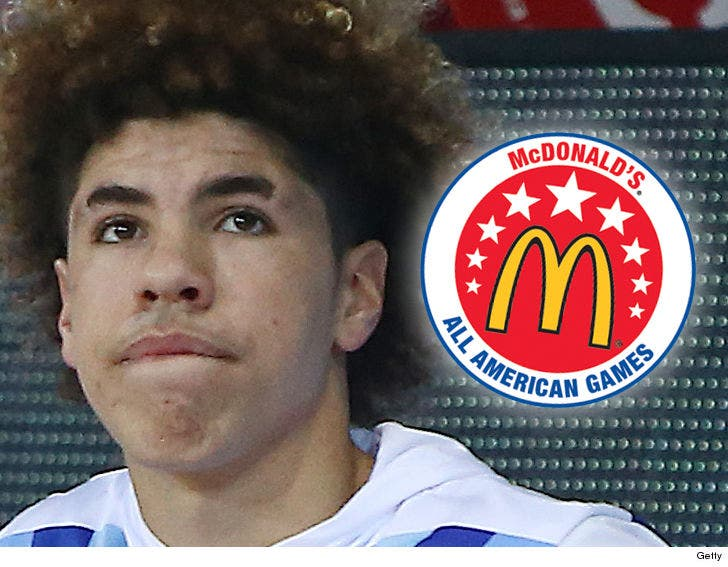newest 12e96 4ab80 LaMelo Ball Ineligible for McDonald's All-American Game ...
