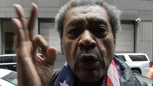 Don King -- America, Keep Your Eye on the Ball ... Locker Room Talk's Not the Issue