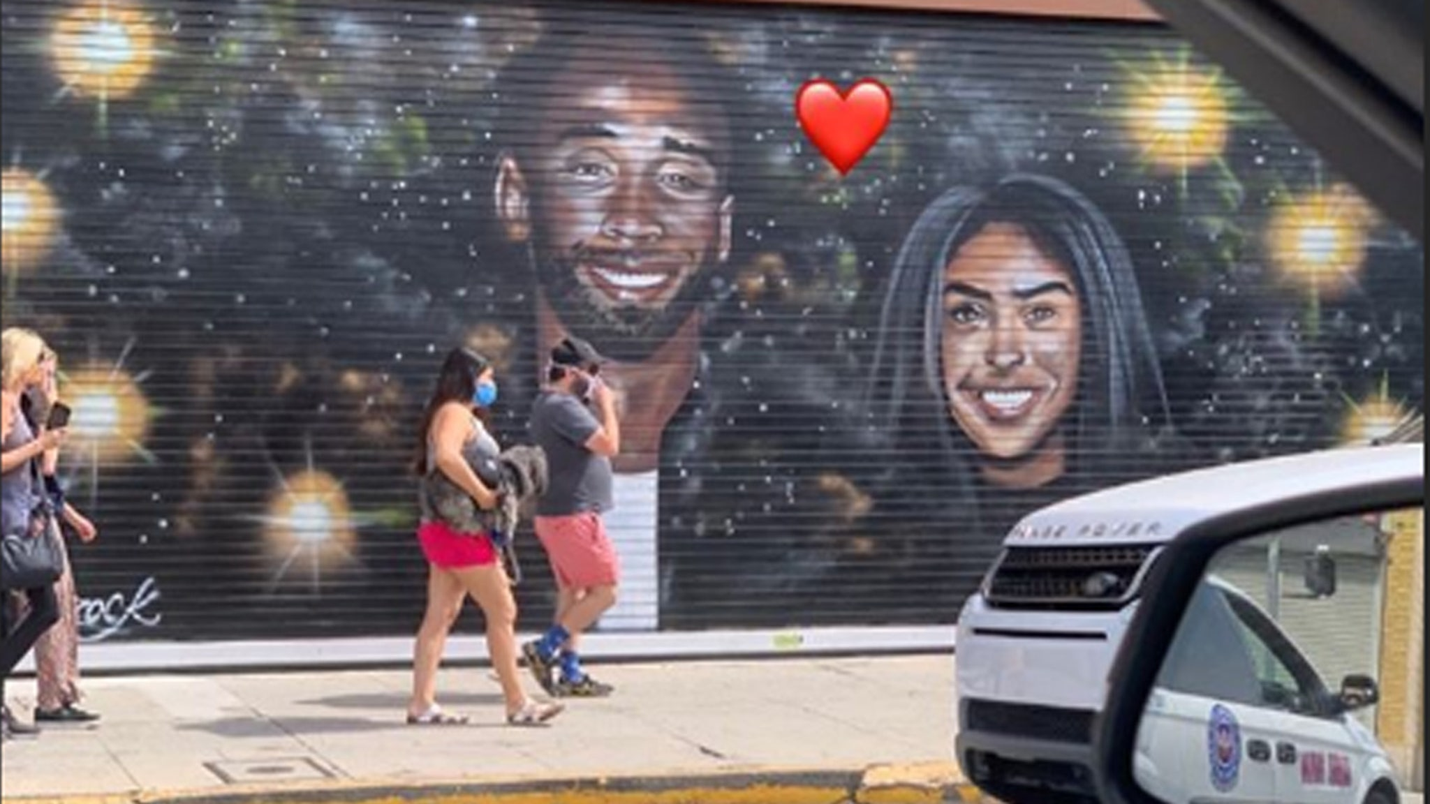 Kobe Bryant Murals Go Untouched Amid L.A. Chaos, Vanessa Appreciative