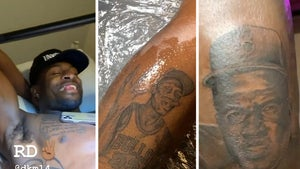 NFL's DK Metcalf Gets Tattoo Tribute to Black Heroes, MJ, MLK, Jackie Robinson