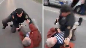 Ohio Cop Wrestles Old Man During Traffic Stop in Crazy Video