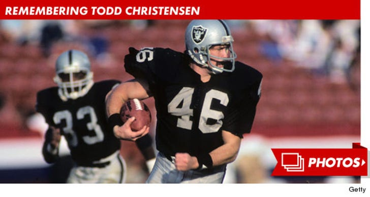 Remembering Todd Christensen