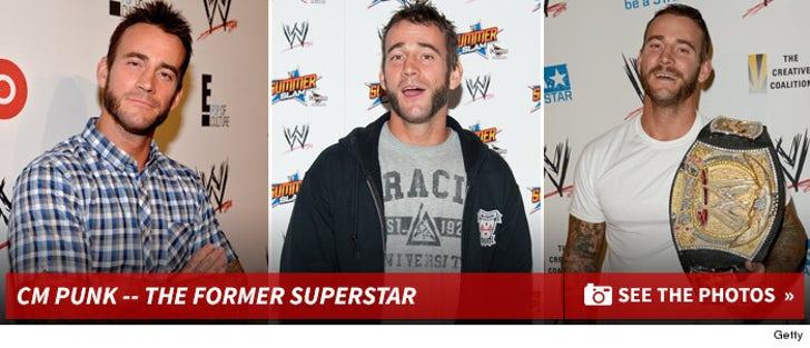 CM Punk's Former Superstar Photos