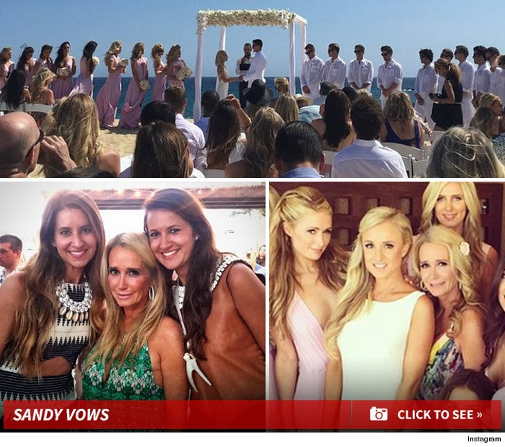 Sandy Vows - Kim Richards Daughter's Wedding