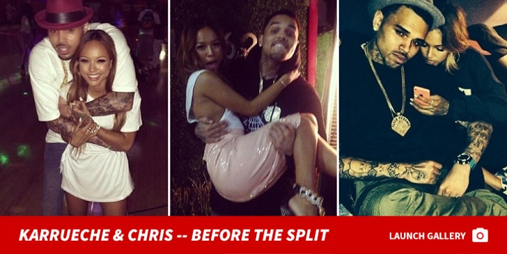 Chris & Karrueche -- Before The Split!