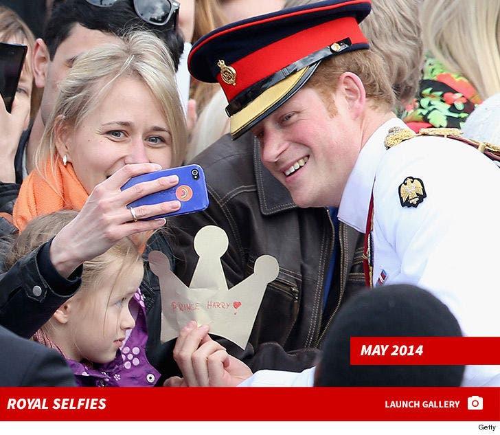 Royal Selfies