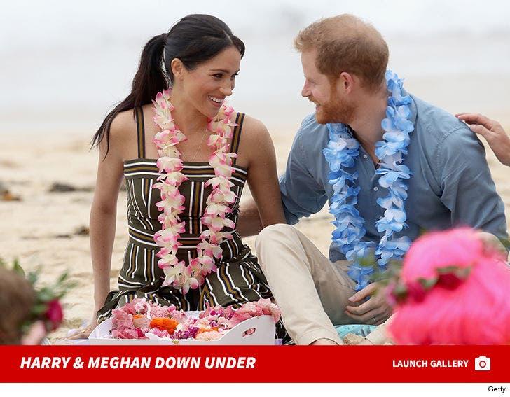 Prince Harry And Meghan Markle Take Australia