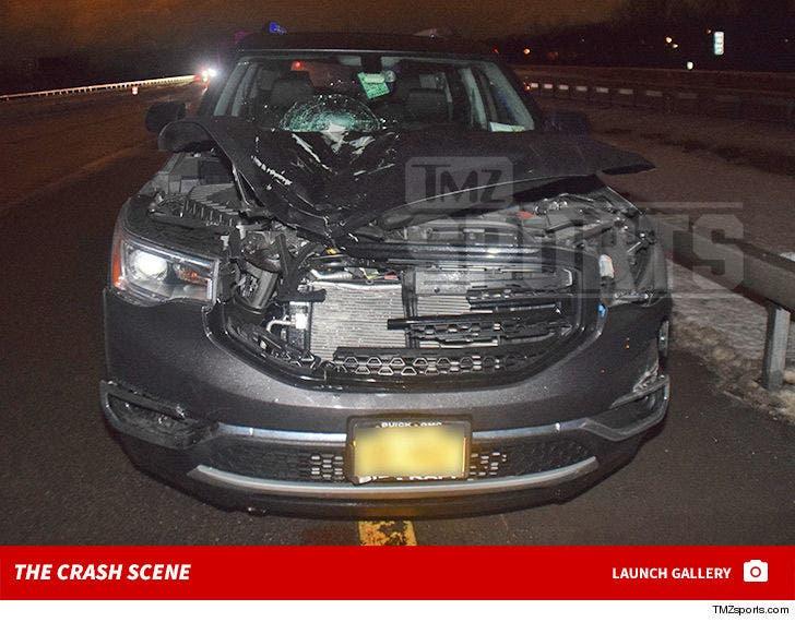 Jim Boeheim -- Crash Scene In New York